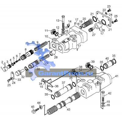 Блок передач 64-12-200СП на ЧТЗ