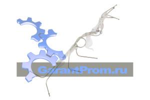 14-69-114 СП топливные проводы с кронштейном (комплект) на ЧТЗ