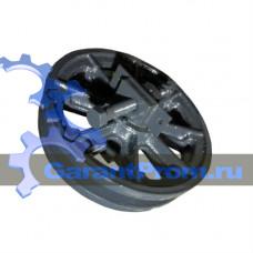 631.04.00.000 колесо натяжное в сборе на ДЭК-631 (ДЭК-631А)