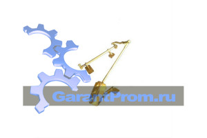 Механизм управления муфтой сцепления ДЗ-98В.13.01.000 на грейдер ДЗ-98