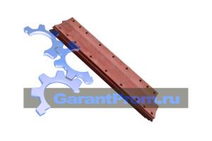 Нож средний ДЗ-98Б.23.01.011 на грейдер ДЗ-98