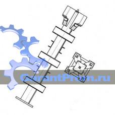 Анкер (стойка) крепления башенного крана усиленный КБ-586.09.01.00.000-01 (TDK-10.215)