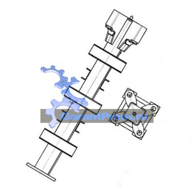 Анкер крепления башенного крана усиленный КБ-586.09.01.00.000-01 (TDK-10.215)
